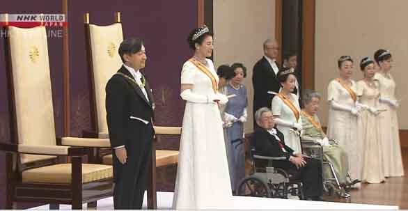 Hoàng Thái tử Naruhito lên ngôi Hoàng đế Nhật Bản