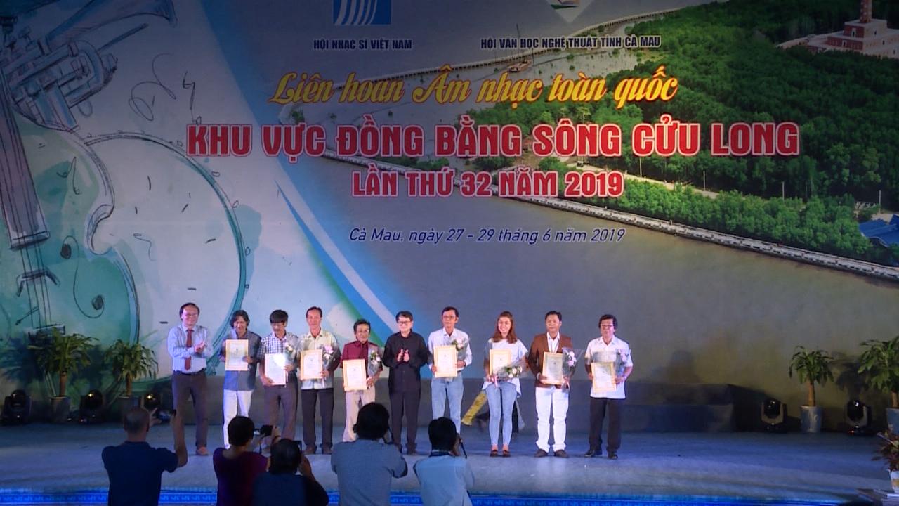 Bế mạc Liên hoan Âm nhạc toàn quốc khu vực Đồng bằng sông Cửu Long lần thứ 32