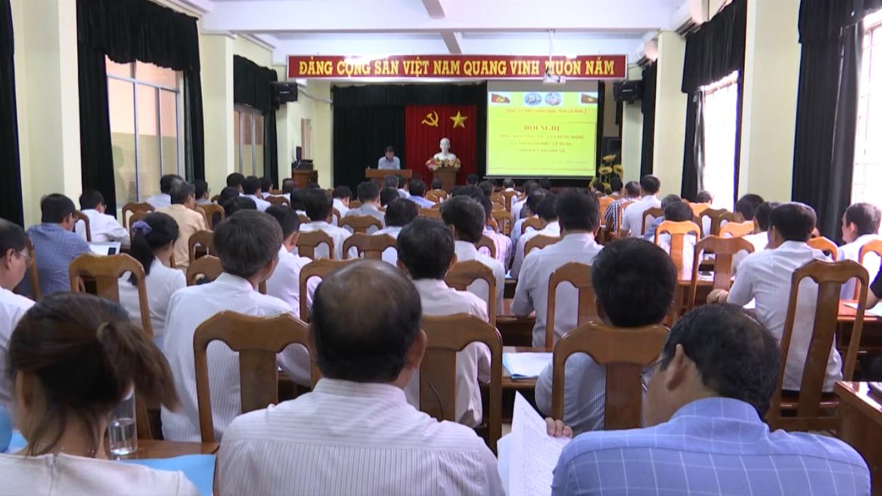 Hội nghị tổng kết công tác xây dựng Đảng