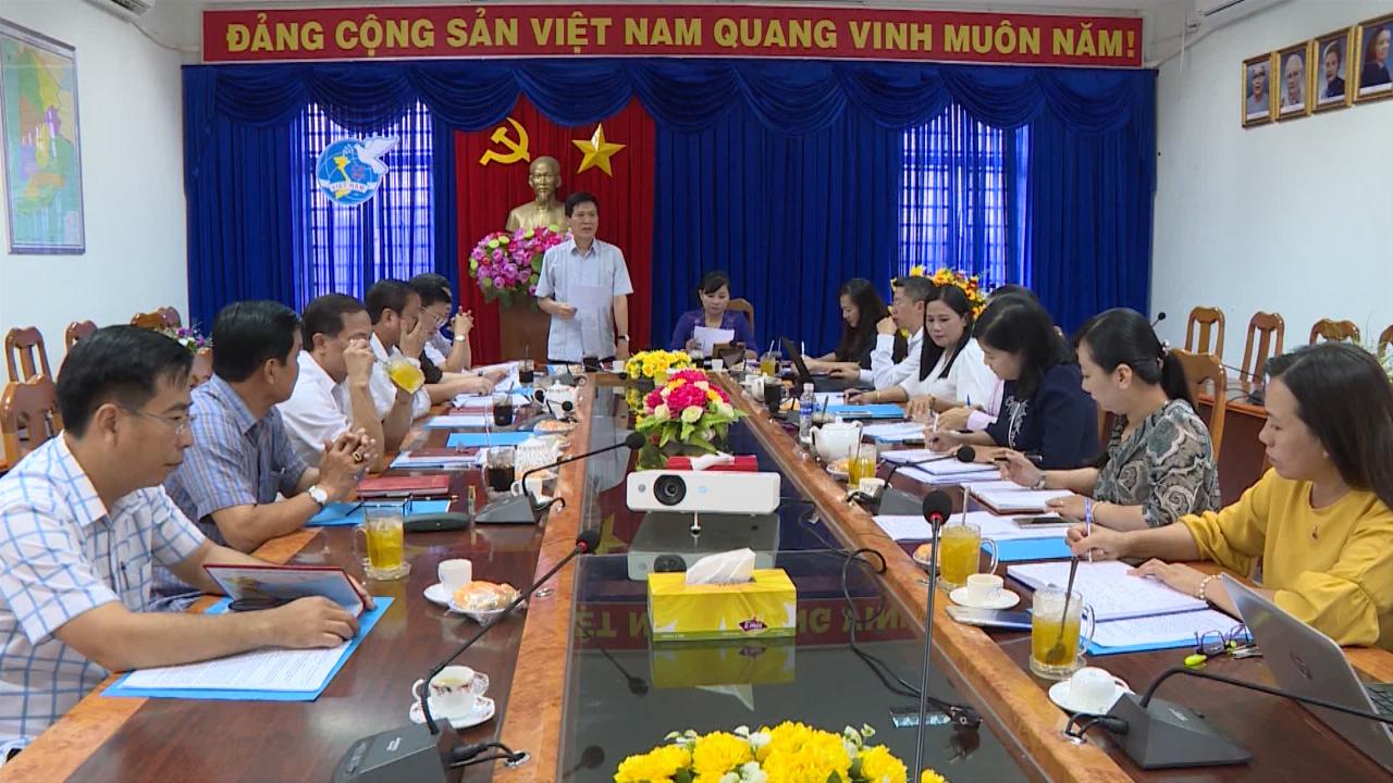 Đoàn khảo sát, nghiên cứu đề tài cấp quốc gia Ban Dân vận Trung ương làm việc với Hội Liên hiệp Phụ nữ tỉnh Cà Mau