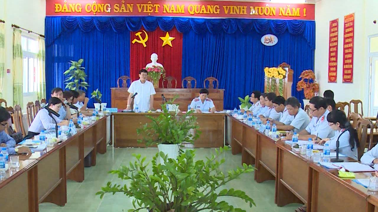 Ban Dân vận Trung ương làm việc với Thanh tra tỉnh Cà Mau