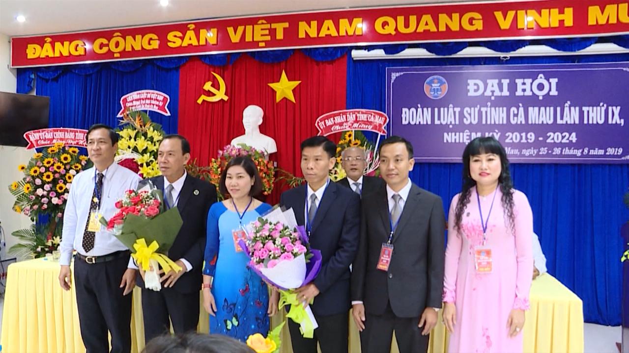 Đại hội Đoàn Luật sư tỉnh Cà Mau lần thứ IX