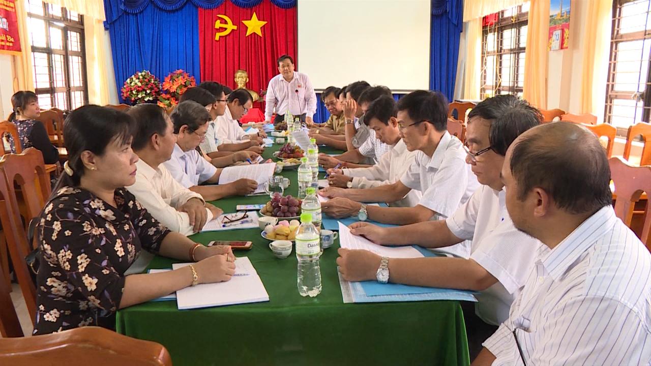 Ban Dân tộc HĐND tỉnh giám sát Trường Phổ thông Dân tộc Nội trú tỉnh Cà Mau