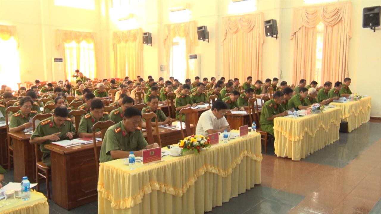 Công an tỉnh Cà Mau tổ chức hội nghị sơ kết công tác quý III/2019