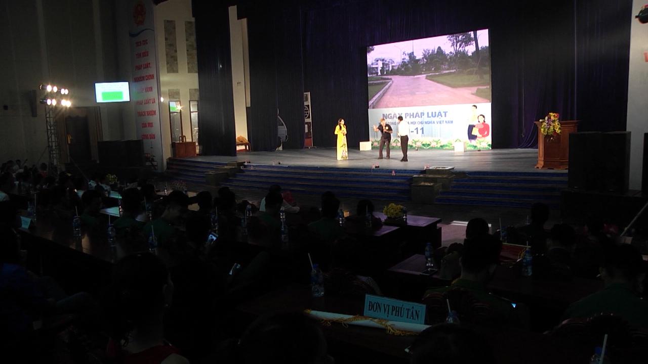 Khai mạc Hội thi tuyên truyền pháp luật