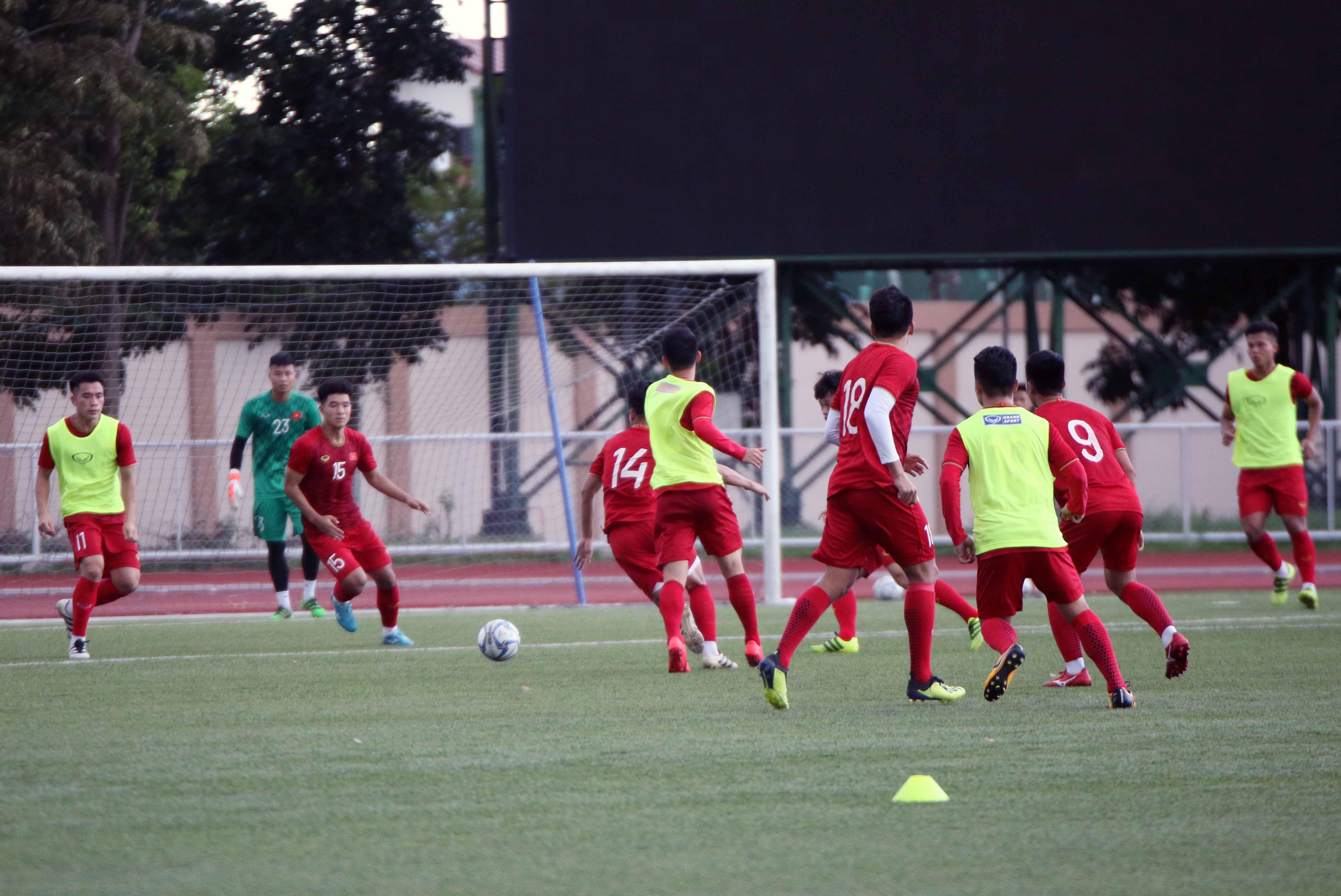 Đội tuyển U22 Việt Nam 'xung trận' với đội hình… dự bị?
