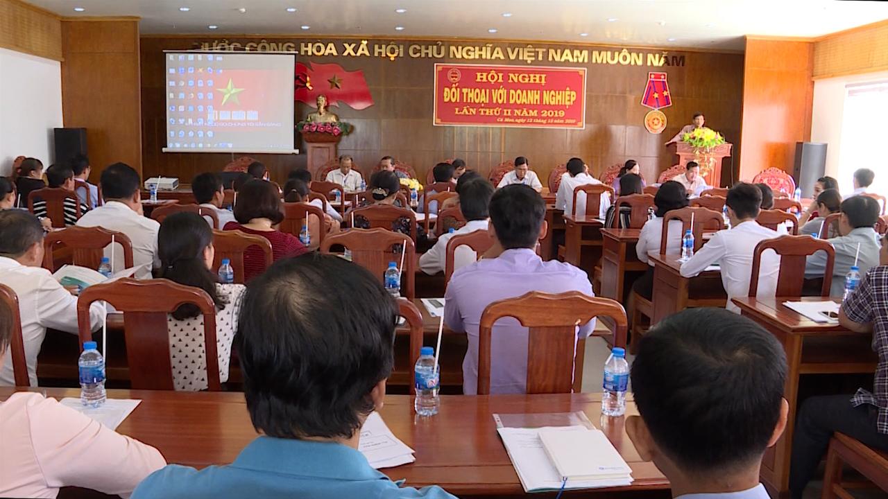 Cục Thuế tỉnh Cà Mau đối thoại doanh nghiệp lần 2