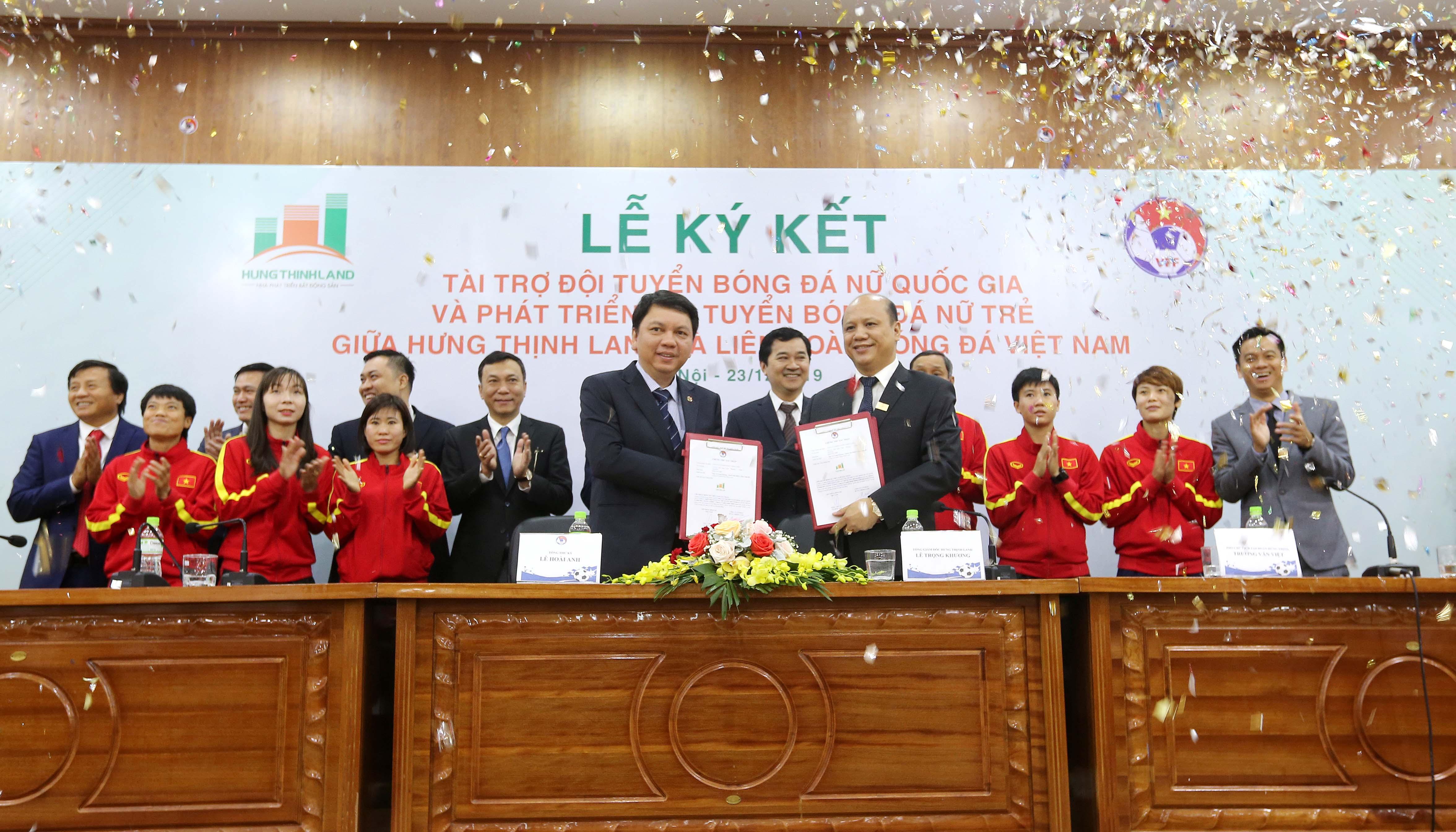 Bóng đá nữ Việt Nam được tiếp thêm nguồn lực