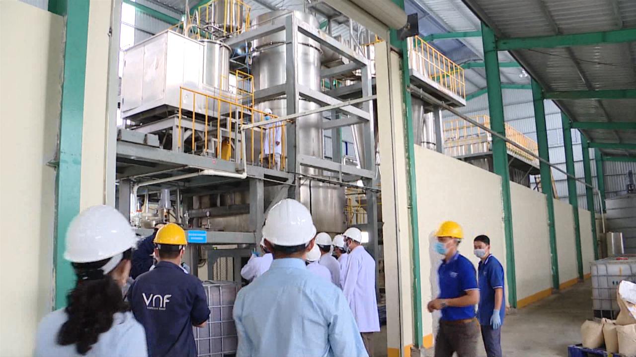 Giới thiệu mô hình trình diễn kỹ thuật sản xuất bột đạm tôm xuất khẩu