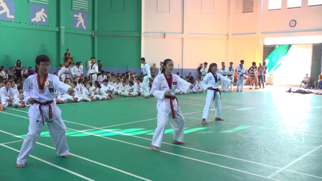 Kỳ thi thăng đẳng Taekwondo năm 2019