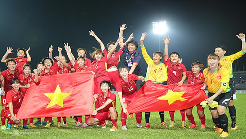 Đội tuyển nữ Việt Nam nhận thưởng lớn