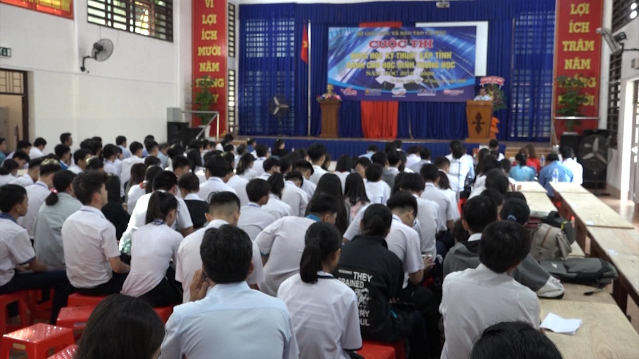 Cuộc thi Khoa học kỹ thuật dành cho học sinh
