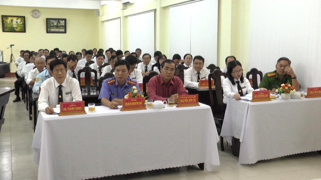 Tòa án Nhân dân tỉnh Cà Mau tổng kết công tác năm 2019