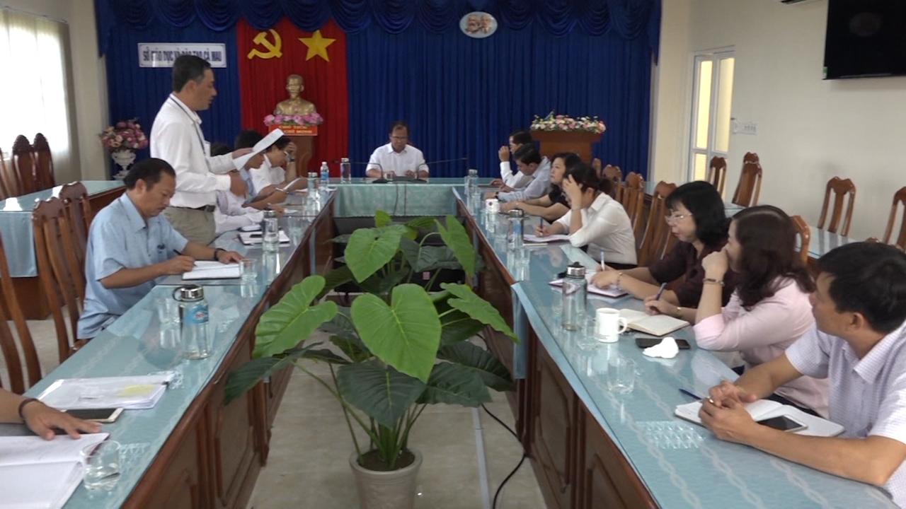 Sở Giáo dục và Đào tạo Cà Mau họp lấy ý kiến dạy học trực tuyến trong thời gian phòng, tránh dịch bệnh Covid -19