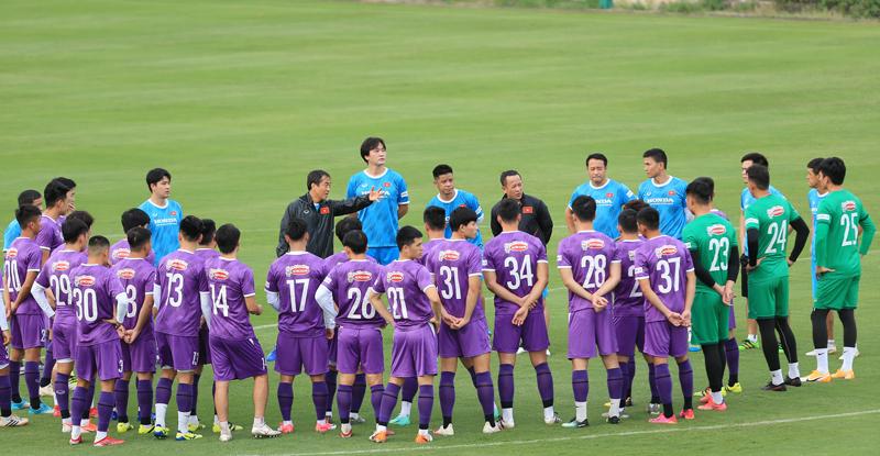 Đội tuyển Việt Nam chuẩn bị cho vòng loại cuối cùng World Cup 2022